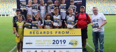 Orlik I na turnieju międzynarodowym w Gdyni na Arka Gdynia Summer CUP